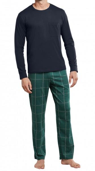 Schiesser Herren Pyjama lang 171417-702