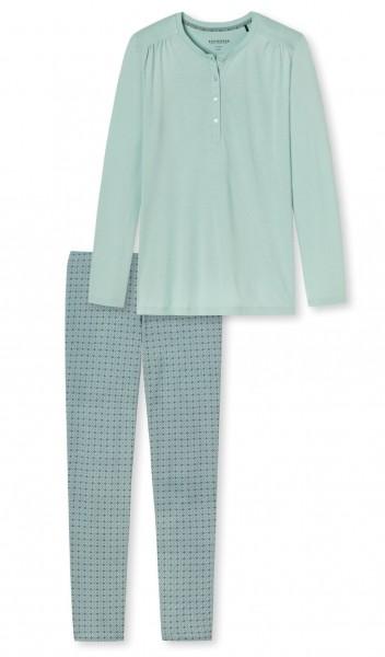 Schiesser Damen Schlafanzug lang 167636-709
