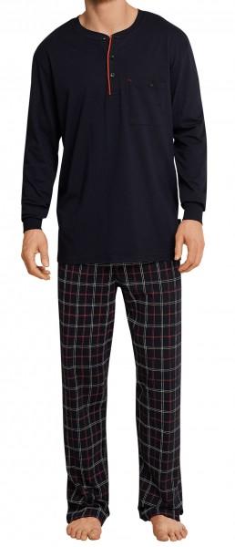 Schiesser Herren Schlafanzug Anzug lang 163645-604