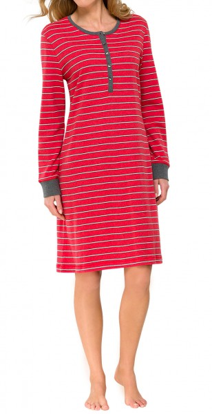 Damen Sleepshirt 1/1 Arm Milanoripp Schiesser 139990