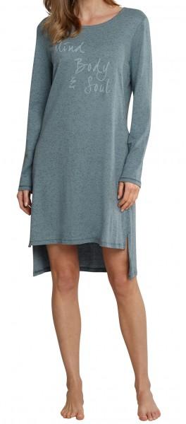 Schiesser Damen Nachthemd Sleepshirt 1/1 Arm, 100cm