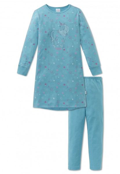Schiesser Mädchen Schlafanzug lang 163380-807