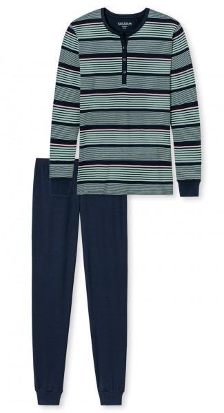 Schiesser Damen Schlafanzug lang 167641-804