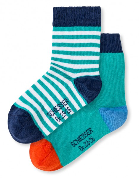 Knaben Socken 2er-Pack Schiesser 146507