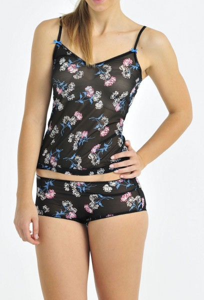 Damen Unterhemd Top Summerdark Schiesser 122031