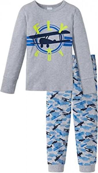 Schiesser Jungen Zweiteiliger Schlafanzug Knaben Schlafanzug Lang