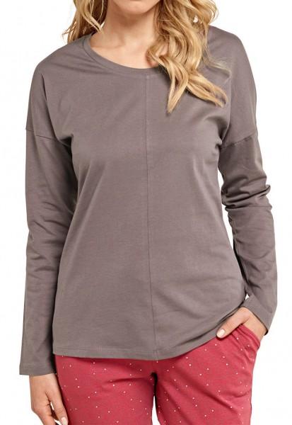 Mix und Relax - Shirt mit 1/1 Arm Heavy-Jersey Schiesser 154058