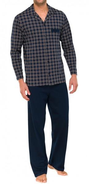 release date f79d6 150ed Herren Pyjama lang Schiesser 139385