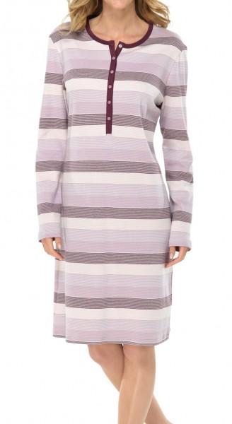 Damennachthemd langer Arm Interlock Leni Schiesser 135797